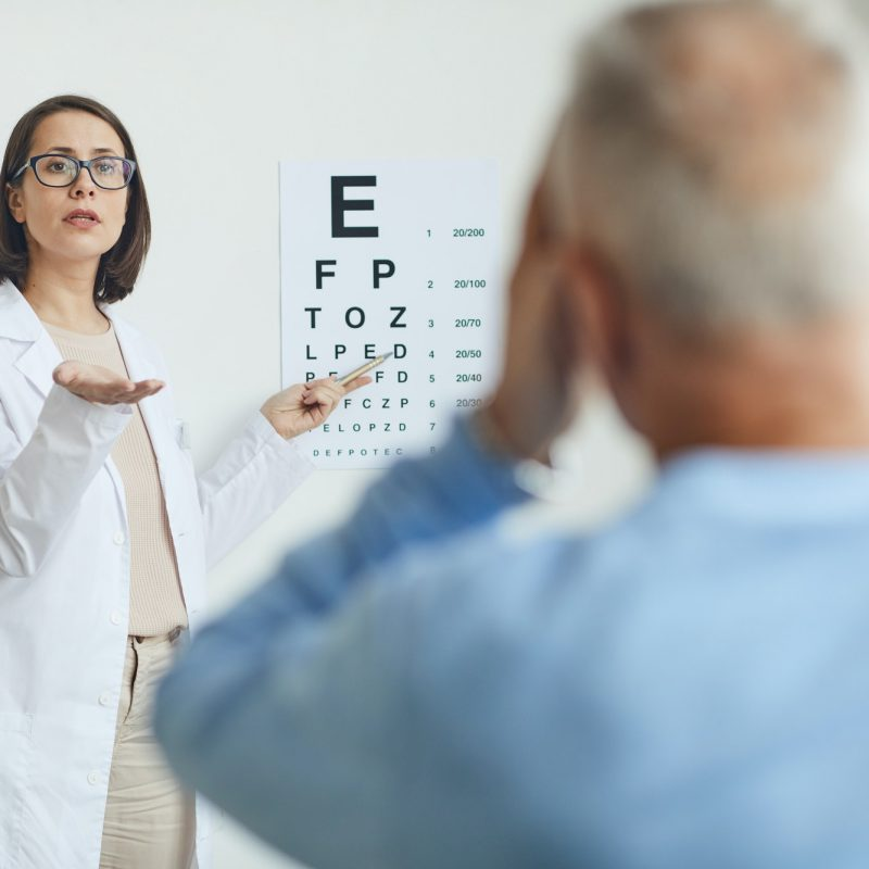 Vision Test in Modern Clinic